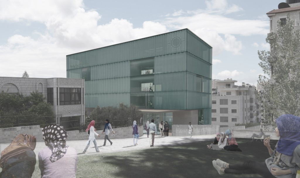 Central Elections Commission Building Palestine Donaire Arquitectos