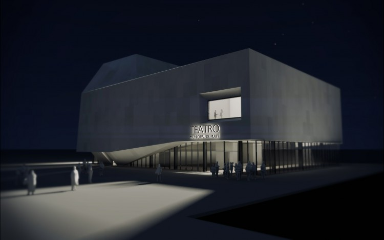 DONAIRE ARQUITECTOS Theatre in Pulpí, Spain